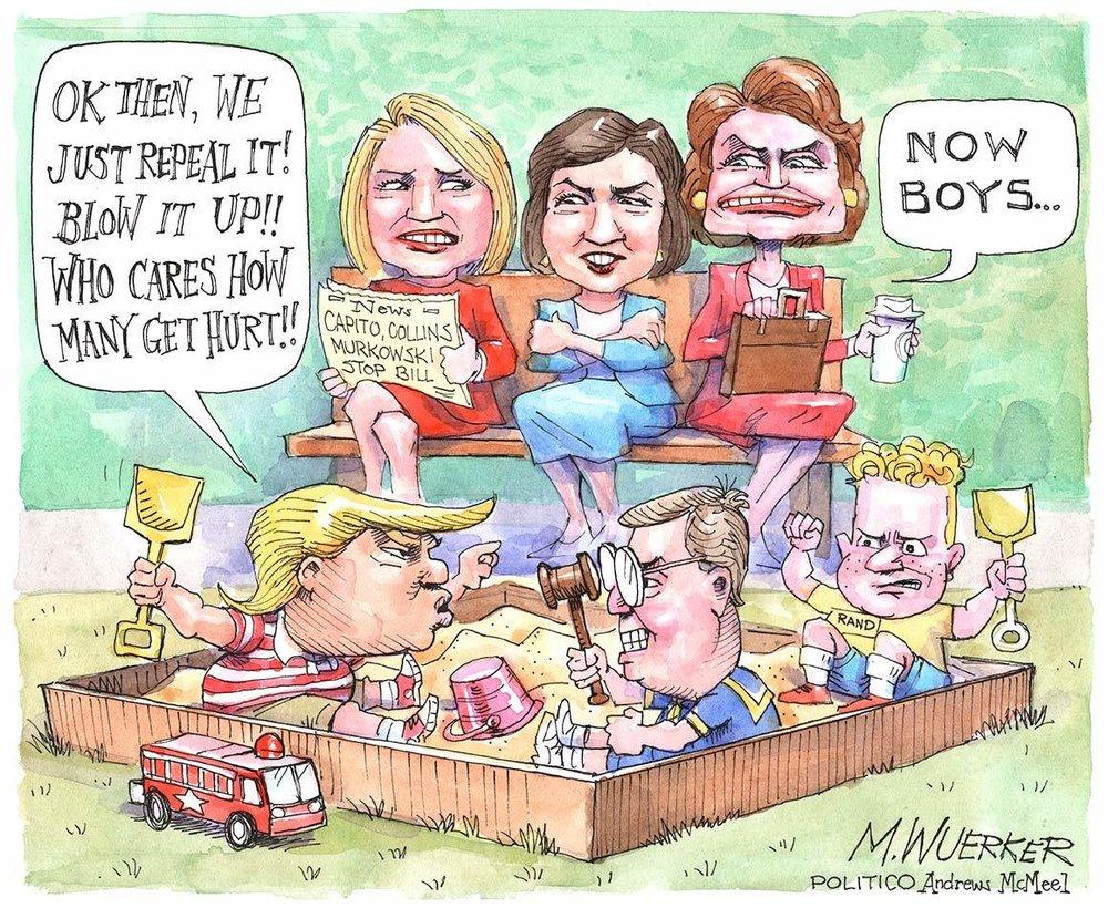 Matt Wuerker for Politico, Source:http://www.politico.com/gallery/2017/07/03/matt-wuerker-cartoons-july-2017-002454?slide=2