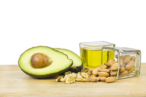 Enjoy healthy fats for a more balanced diet .. -
