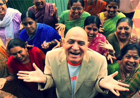 Dr Kataria Founder of Laughter Yoga Therapy -