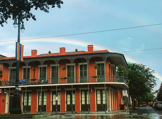 #gaypridemonth you seein' what Im seein'? Nola summer rain representin'
