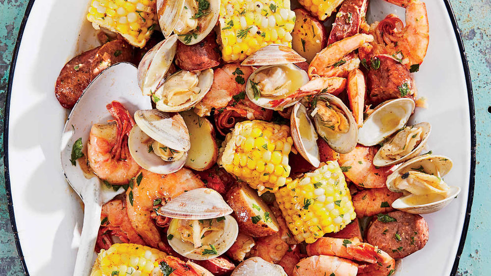 Catering a New England Clambake -