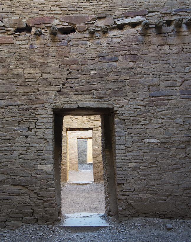 Pueblo Bonito Rooms Chaco Canyon NHP
