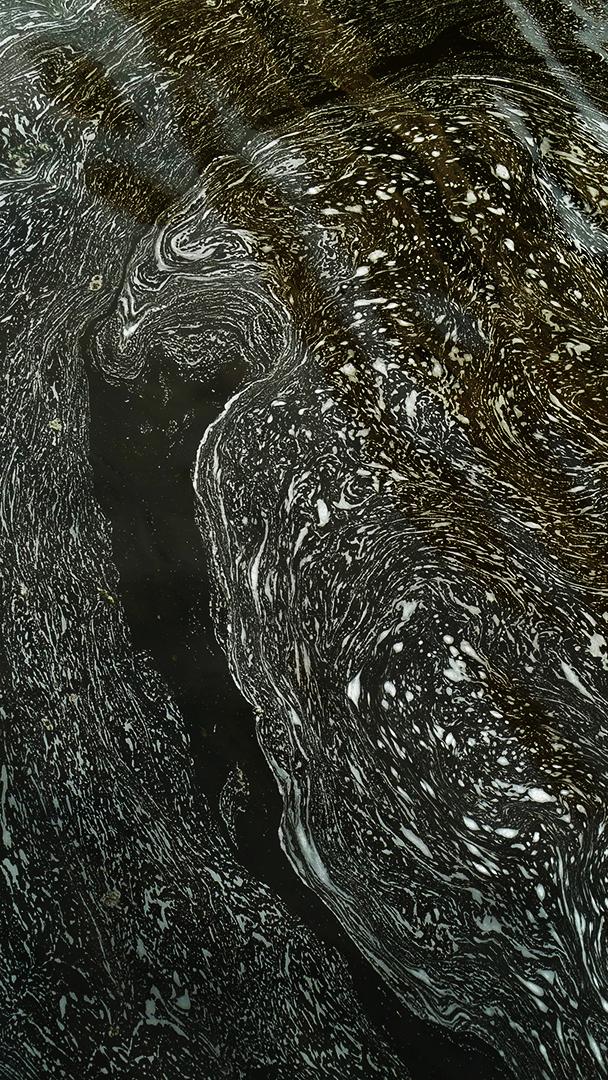 River Foam, Mississippi River, Minneapolis, St. Anthony Falls