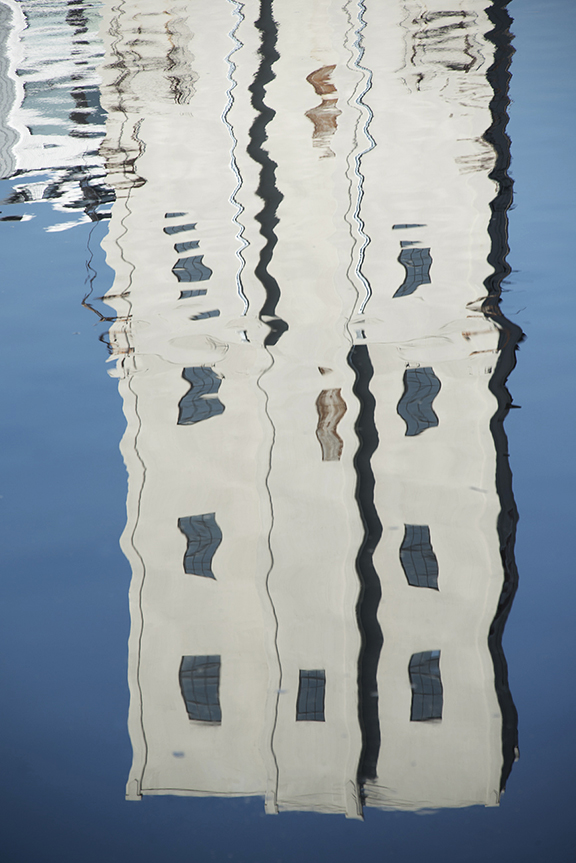 Mississippi River Reflection at St. Paul
