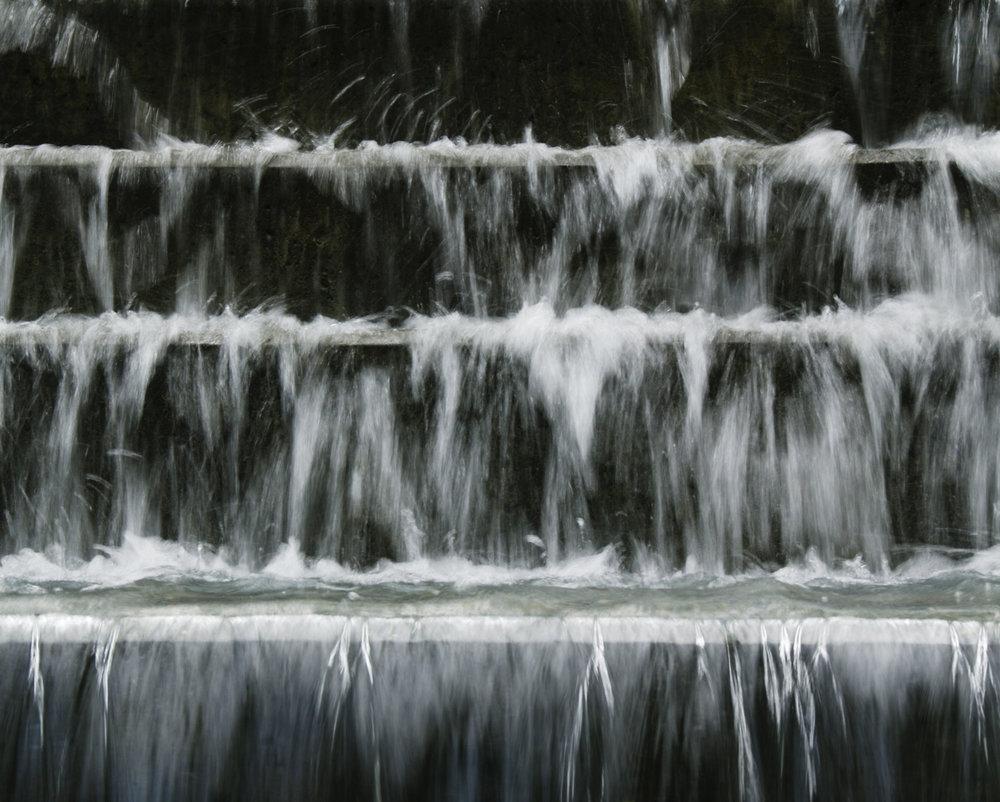 Stepped Waterfall Garden Sculpture