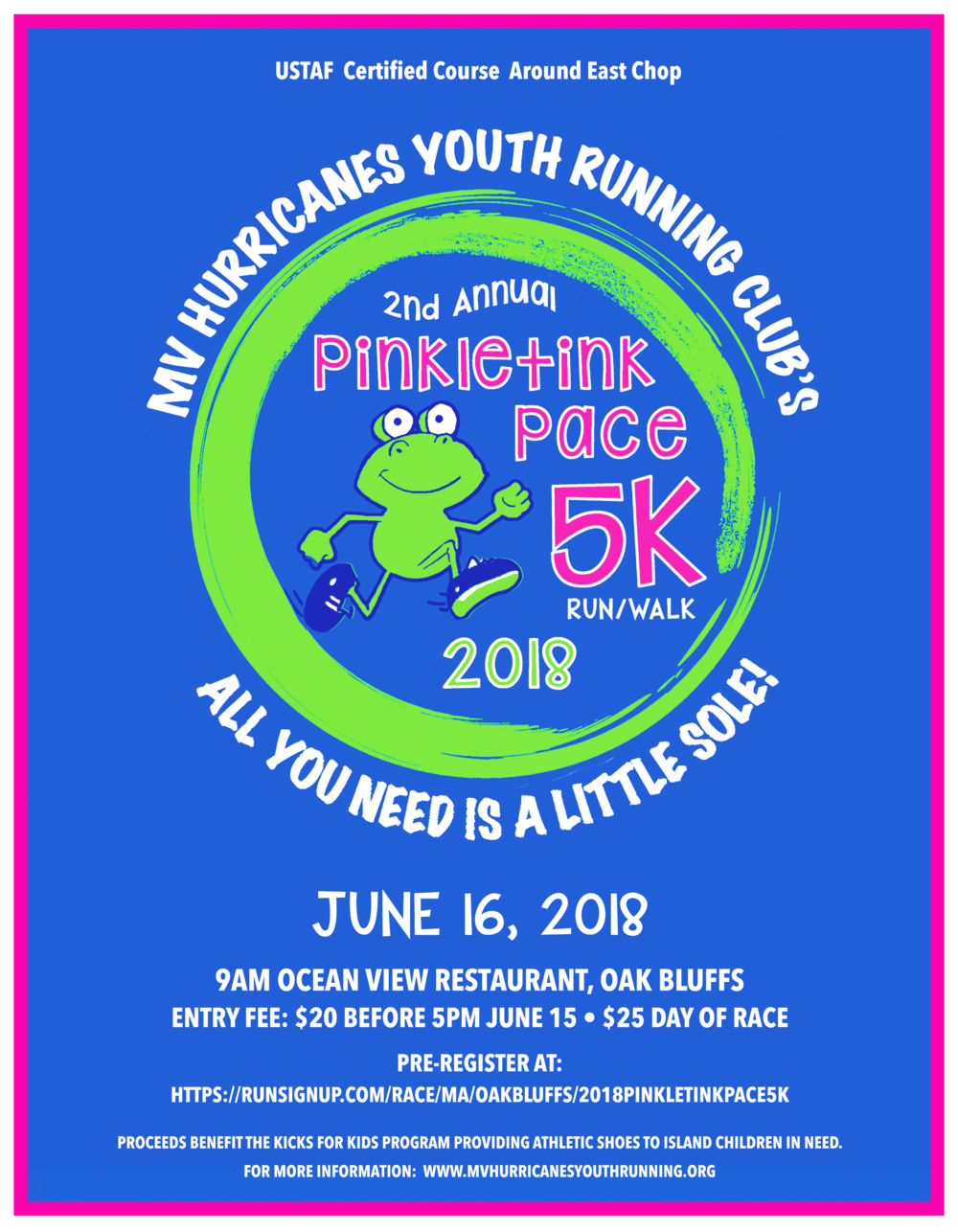 Pinkletink Pace 5K Poster.png