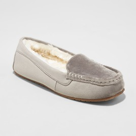Women's Gemma Velvet Driving Slippers - Mossimo Supply Co, $15
