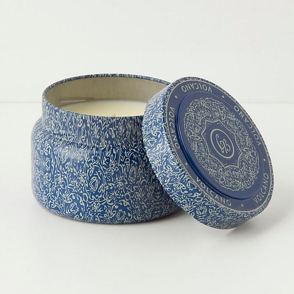 Capri Blue Candle Tin, $14