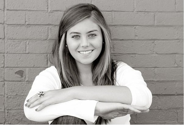 The first picture that I submitted, my senior portrait.