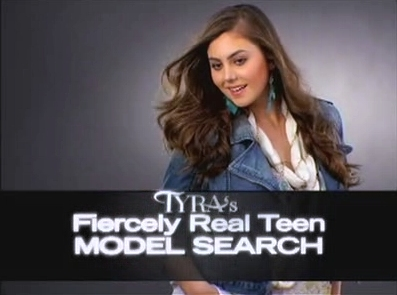 Campaign fiercely real teen model
