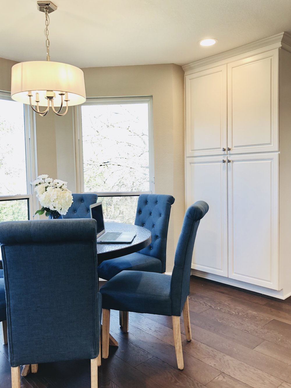 Breakfast and Pantry Cabinets
