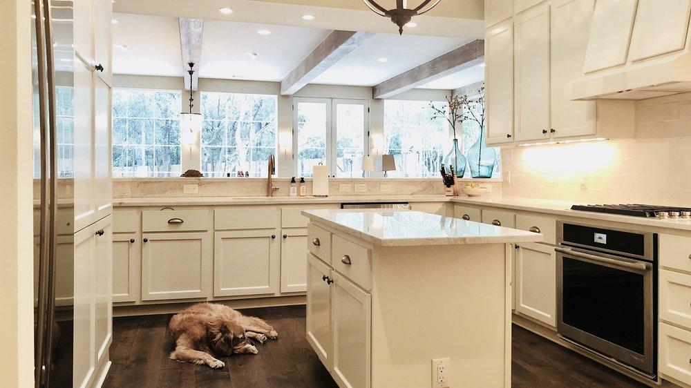 Kitchen Dark Hardwood Floors