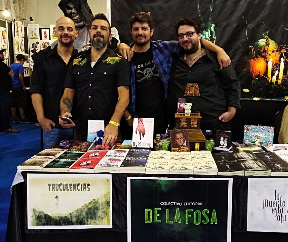 De La Fosa al completo en el stand de Argentina Comic Con.jpg
