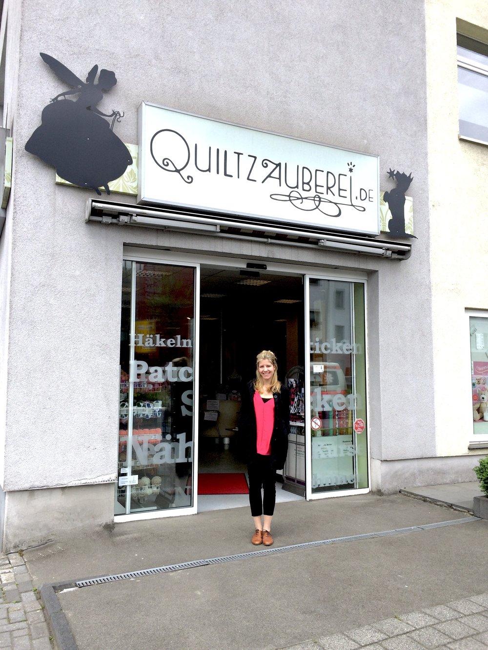 Mein Besuch in der Quiltzauberei