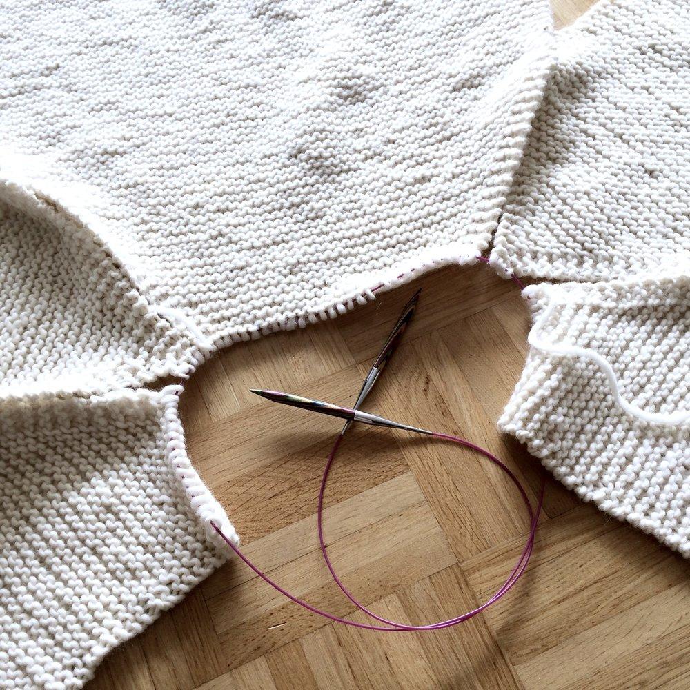 Am liebsten stricke ich mit meinen Nadeln von KnitPro