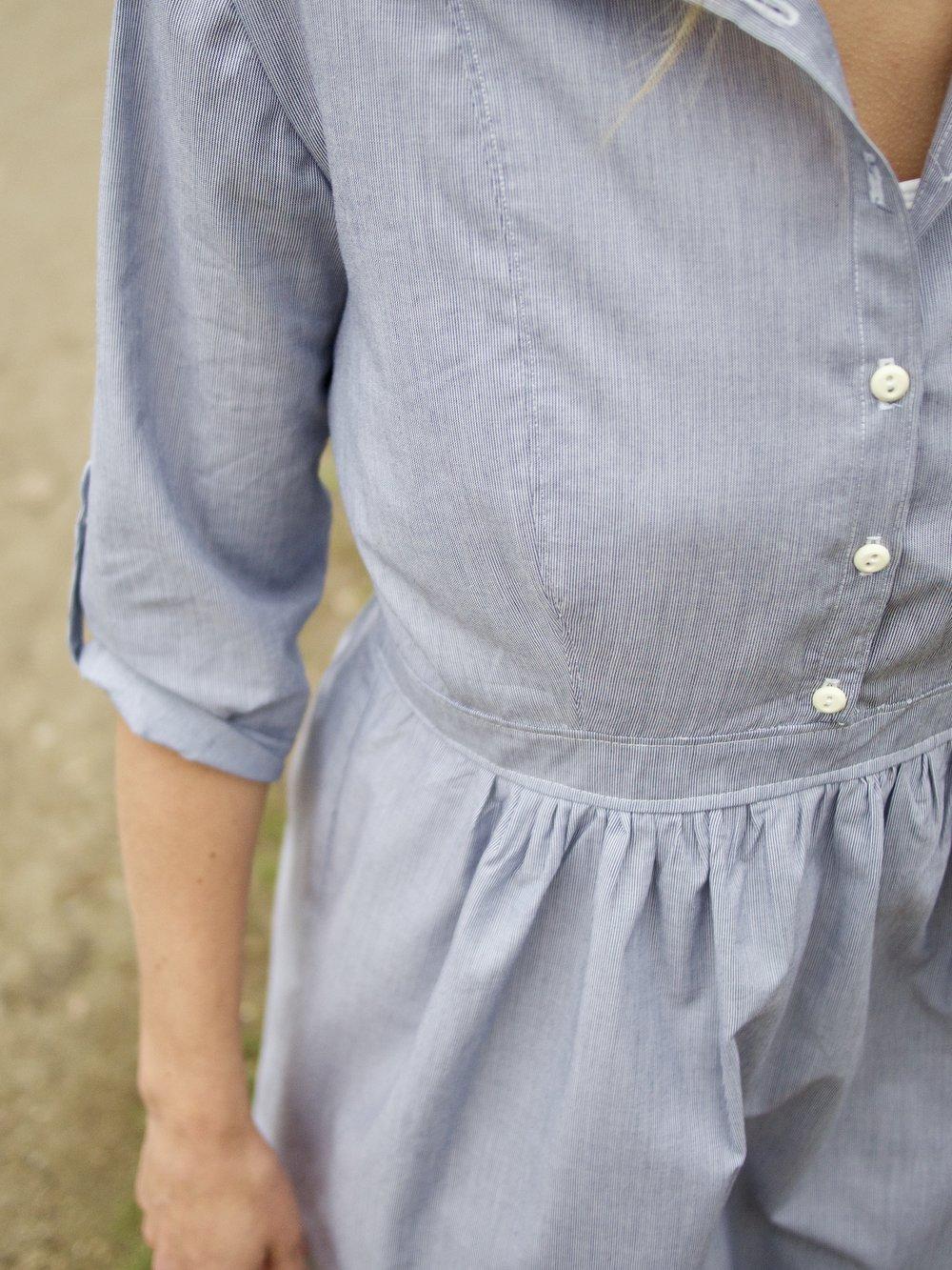 """Hemdblusenkleid """"Ditte"""" La Maison Victor 02/2016"""