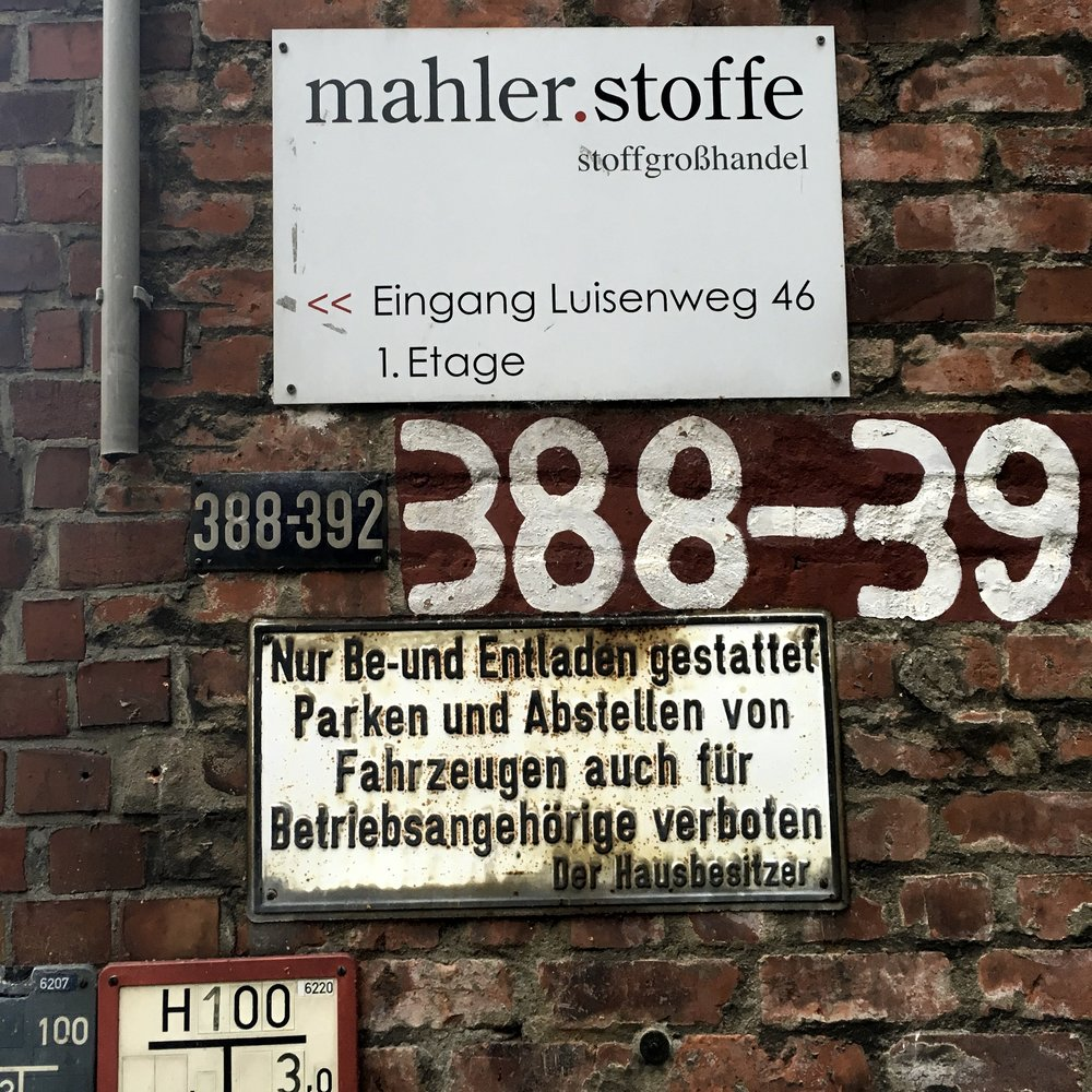 Mahler Stoffe Hamburg