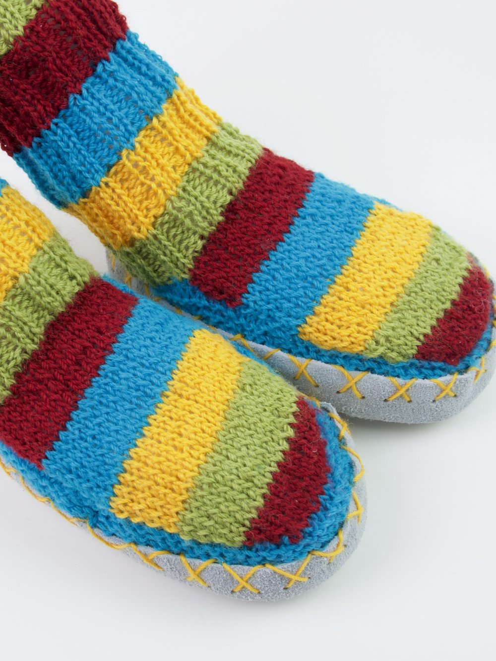 Baby-Hüttenschuhe stricken
