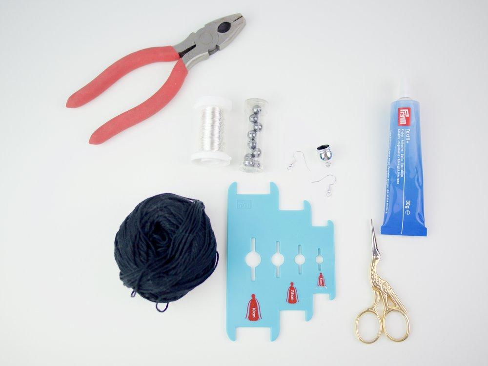 DIY Tasselohrringe/Prym
