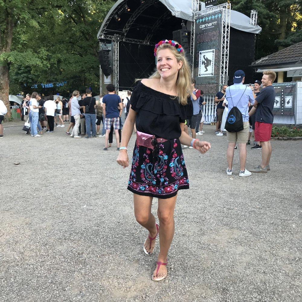 Festivaloutfit nähen/burda style/pompon Haarreif