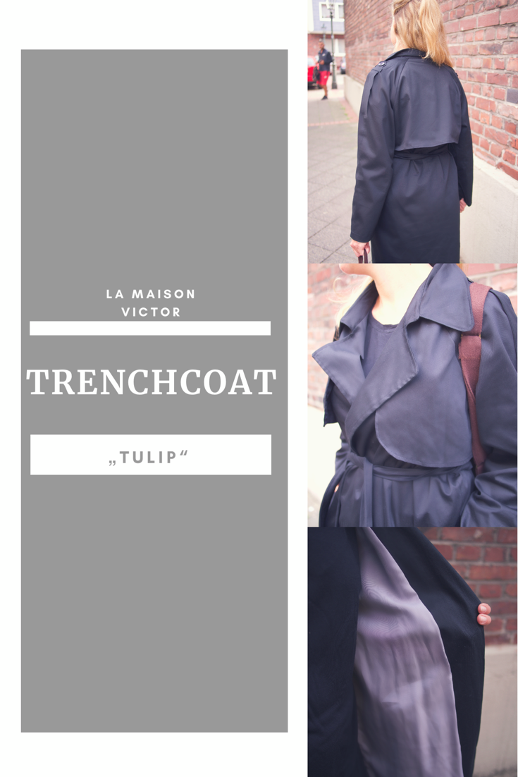 Trenchcoat nähen La Maison Victor
