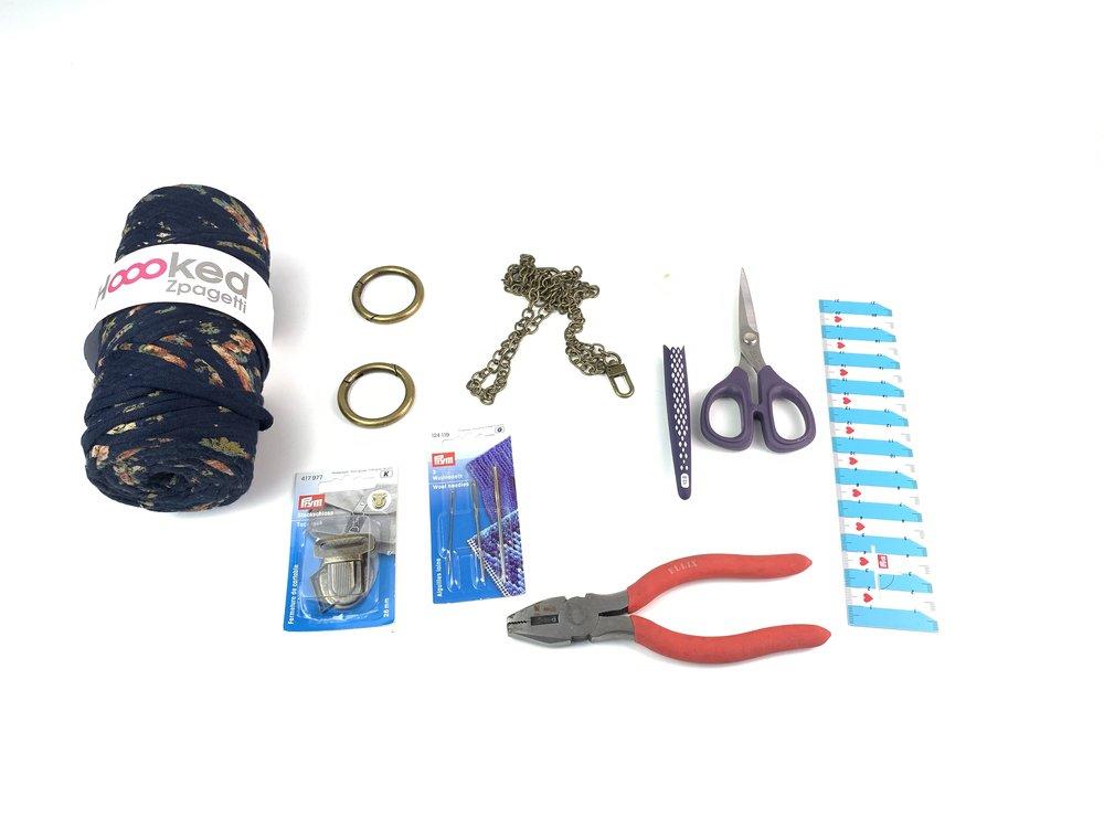 Prym Ambassador Bag Craft Along-DIY-Häkeltasche