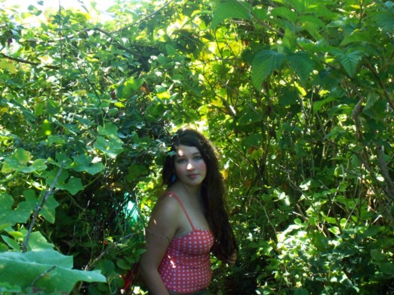 15 yr old me, Summer 2009. Looking at this picture I feel so sad for the gaze looking back at me, because I know what's behind it. The sorrow is so evident, and I feel so much compassion for my younger self.