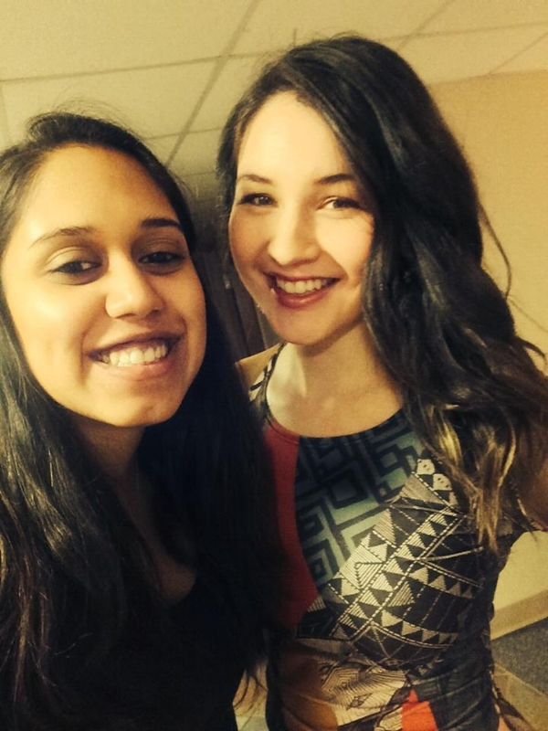 Anushree (my bestie I mentioned above) and I our Senior Year of college 2015. So grateful for this woman, who was with me through some of my hardest days (and still is!).ILY girl!