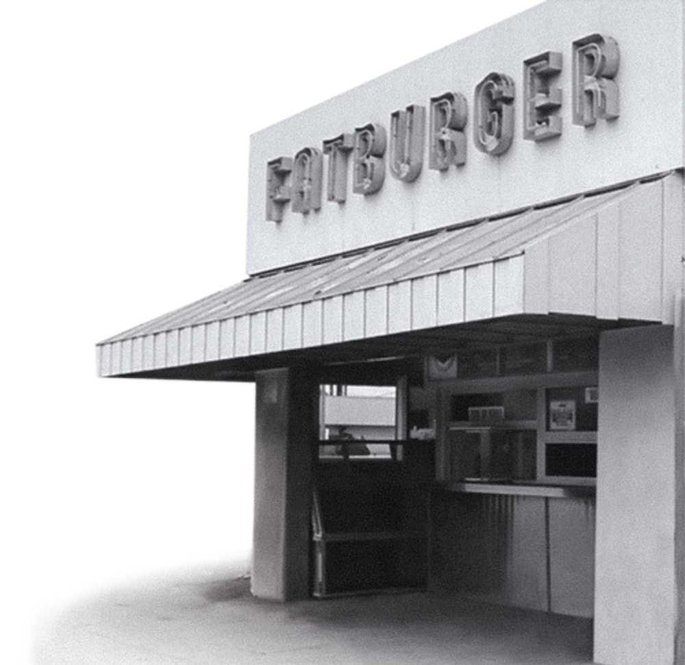 The original Fatburger stand in Los Angeles, CA