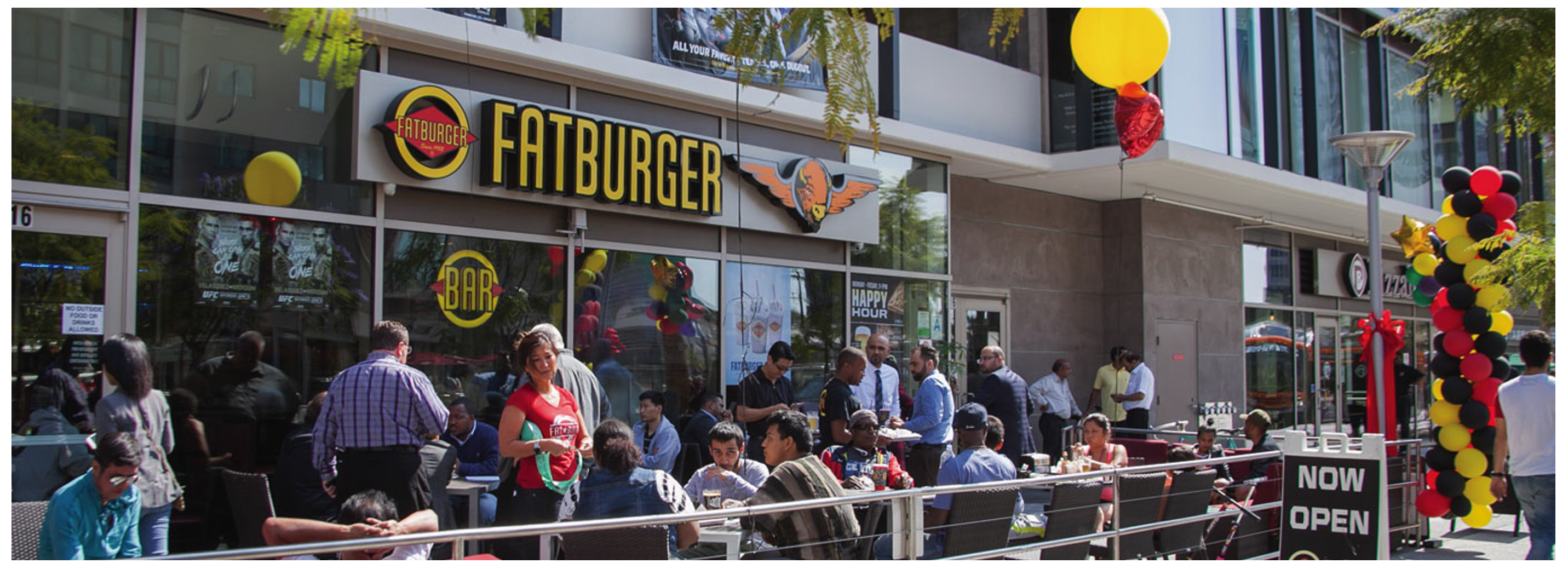 Image of Fatburger & Buffalo's Wilshire & Vermont