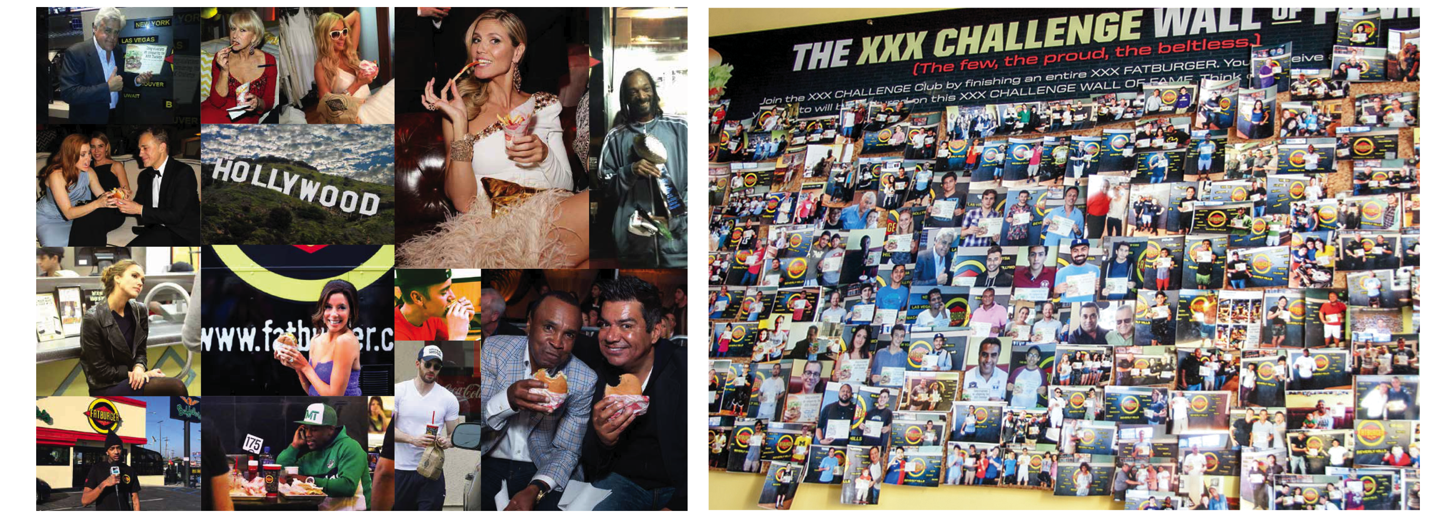 Images of Celebrities with Fatburger