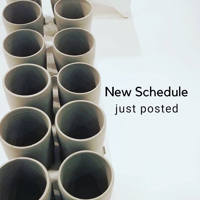 The new spring/summer schedule just went up on the website! Use our customer appreciation code: THRIVE10 before the end of February and get 10% off! Visit the instruction tab on our website to register.  #thriveclaystudio #lakeviewlife #pepperplace #happeninsintheham #birminghamal #birmingham.Al.Local #bhamnow