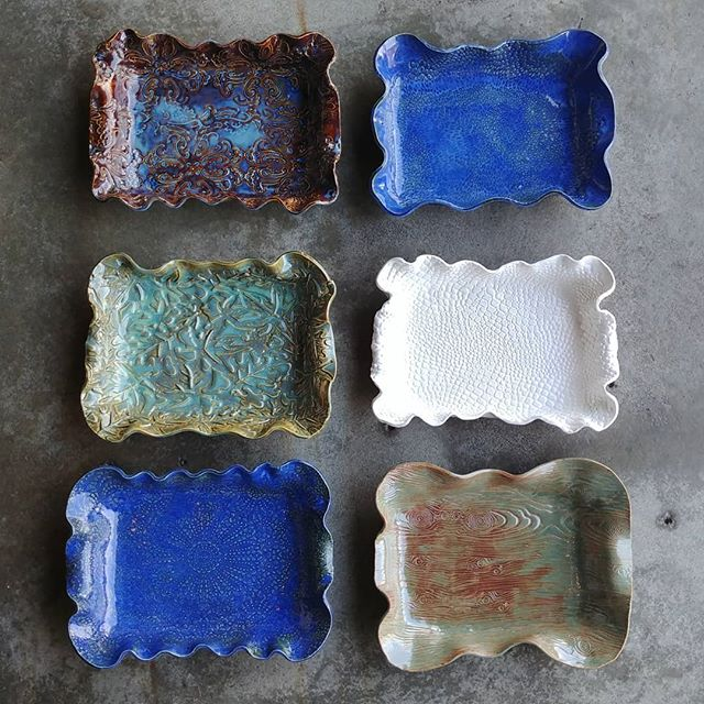 Still need a great MOTHER'S DAY GIFT?? We still have space in this Saturday's casserole dish workshop. These are actual student samples from people who have never worked with clay!  All you have to do is register on our website and show up. @pepperplacebham  #thriveclaystudio #lakeviewlife #pepperplace #happeninsintheham #birminghamal #birmingham.Al.Local #bhamnow #mothersday #handmademothersday