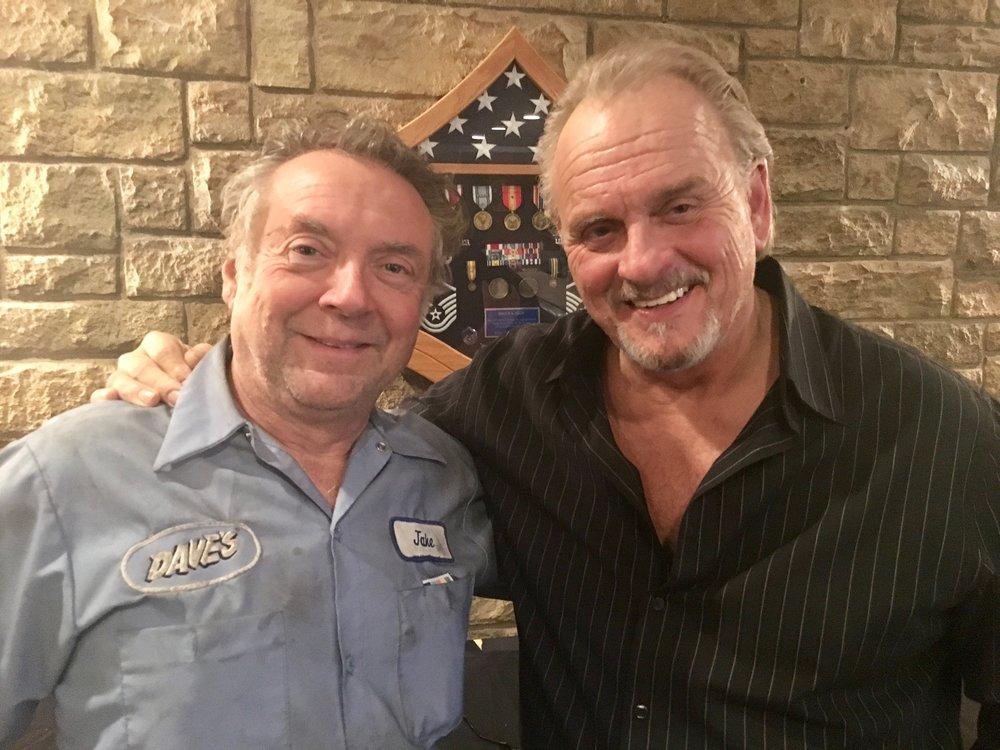 Mike Gaglio (Jake) and Robert Craighead
