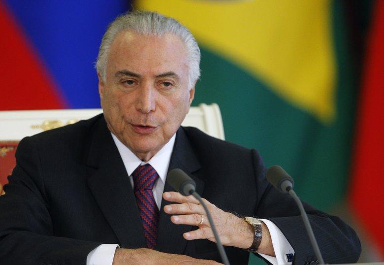 Michel Temer, Presidente de Brasil / Foto: EFE