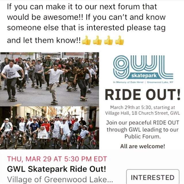 The ride out is tomorrow! Bring your board, scooter, or bike all are welcome! #nofilter#gwlskatepark #doitfordale  #onestopsportshop #onestopshop #wegotitall #bestpricesaround #justgonnasendit #letsgoskate #skateshop #skaters #njskaters #nyskaters #skatepark #skatecommunity #bmx #skateparts #njskateshop #njskateboarding #supportyourlocalskateshop #supportyourlocalskatepark #supportyourlocalskaters #supportyourlocalskatescene #juniors_skateandsport