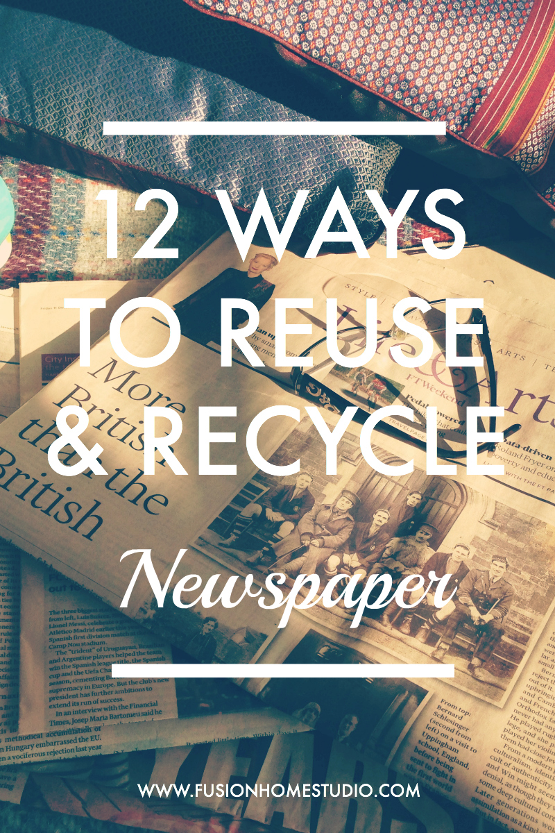 12 ways to reuse and recycle newspaper.jpg