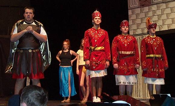A Funny Thing Happened on the Way to the Forum,  March 2003