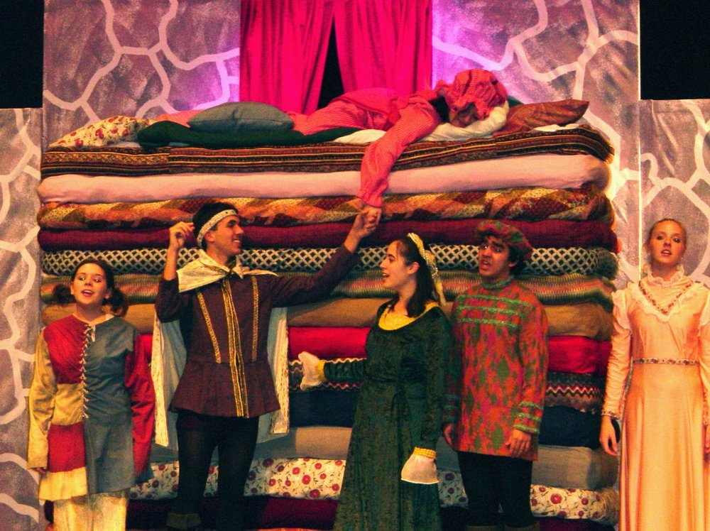 Once Upon a Mattress,  April 2004