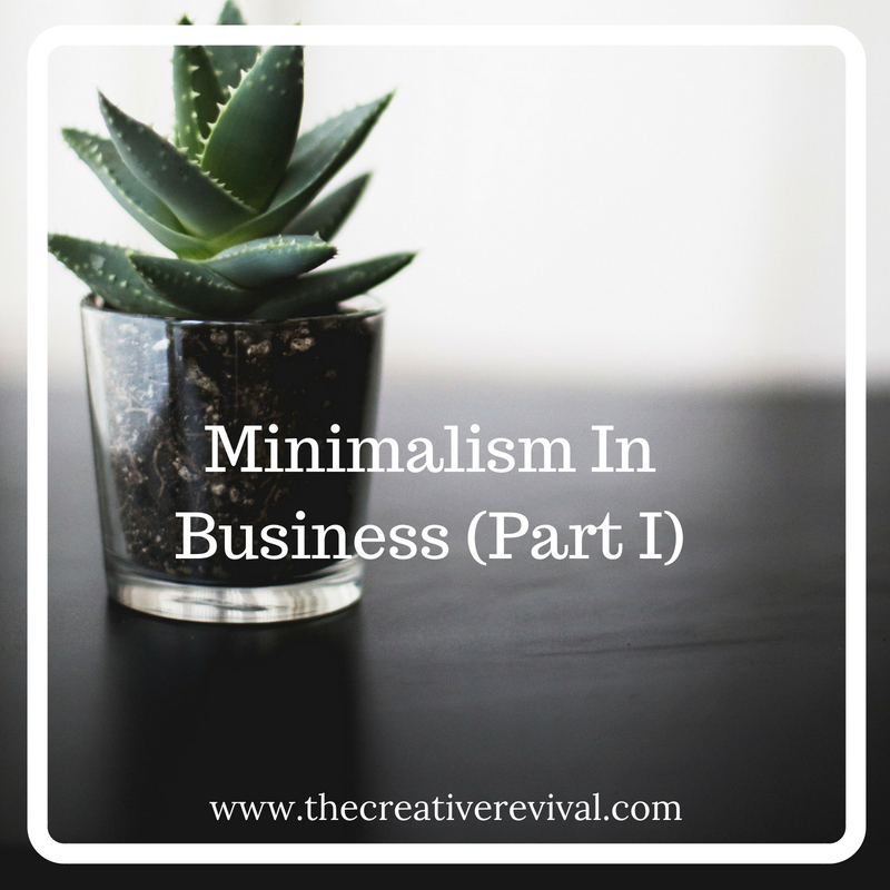 Incorporating minimalism approaches in business