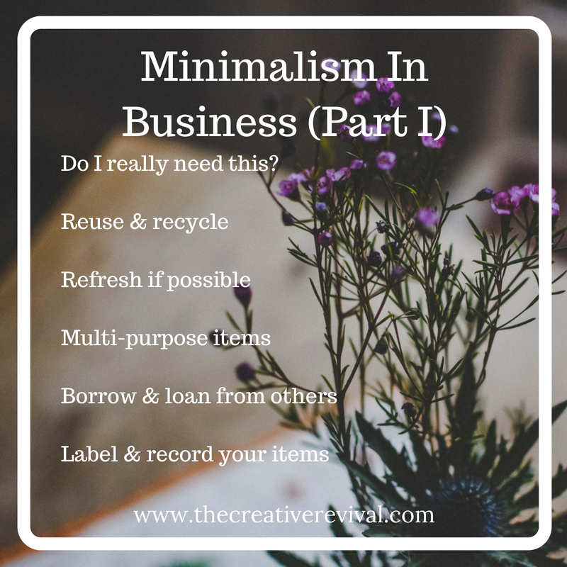 Tips to bring minimalism into your business