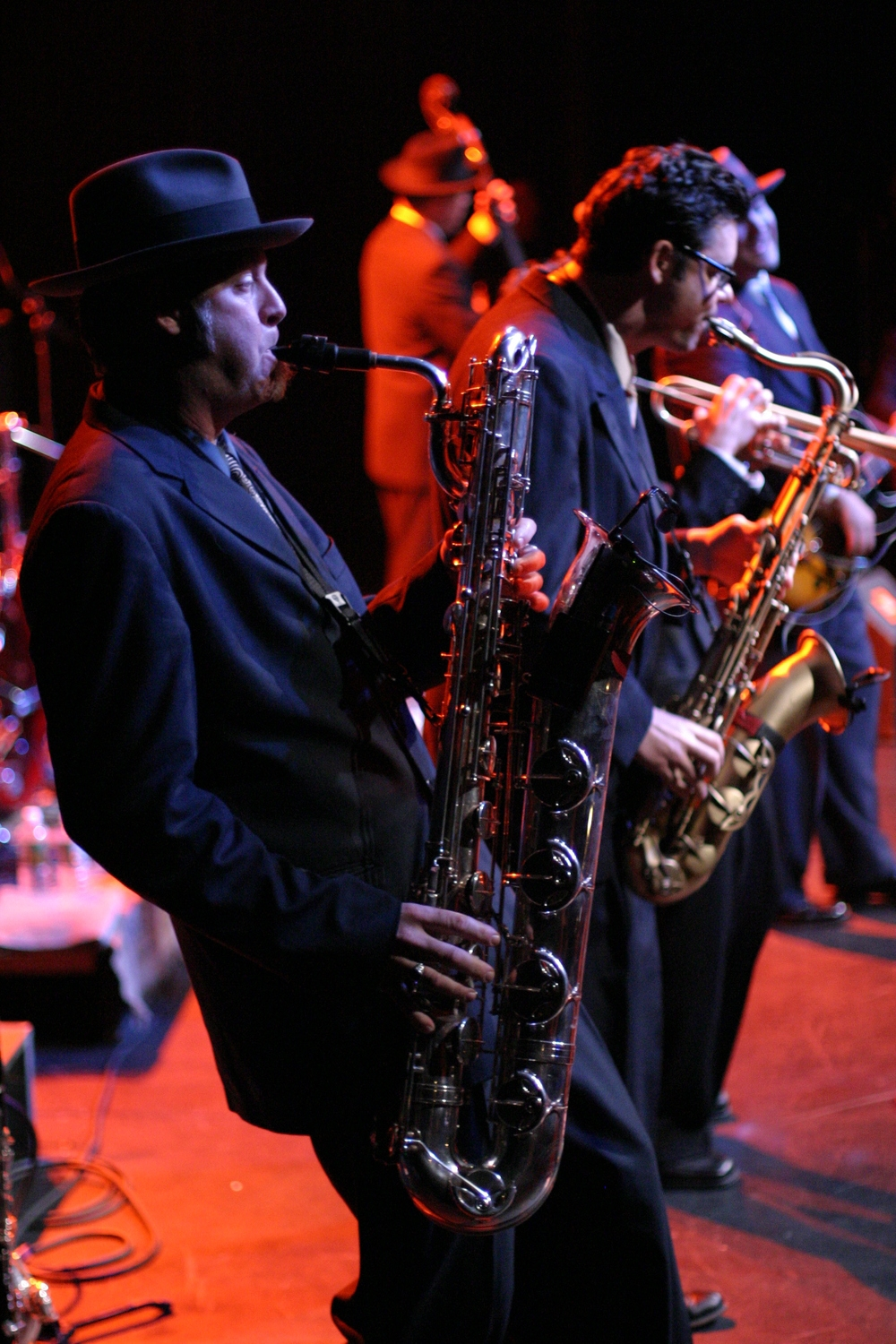 Big Bad Voodoo Daddy Horn Section