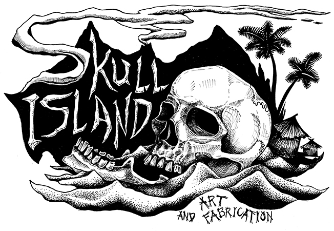 Skull Island Art and Fabrication