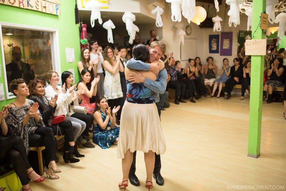 IT TAKES A VILLAGE TO CREATE A TANGO DANCER