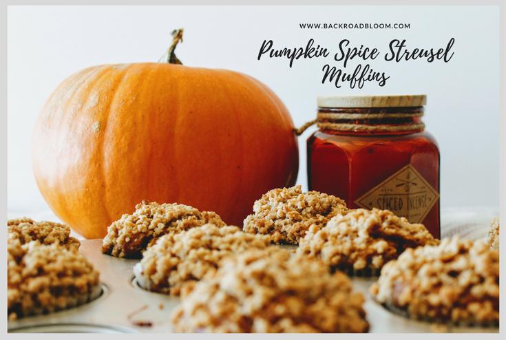 Pumpkin Spice Streusel Muffins
