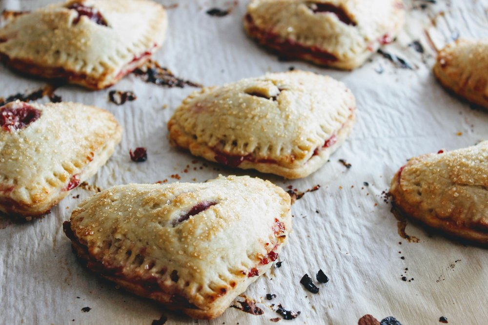 Heart Shaped Hand Pies for Valentine's Day