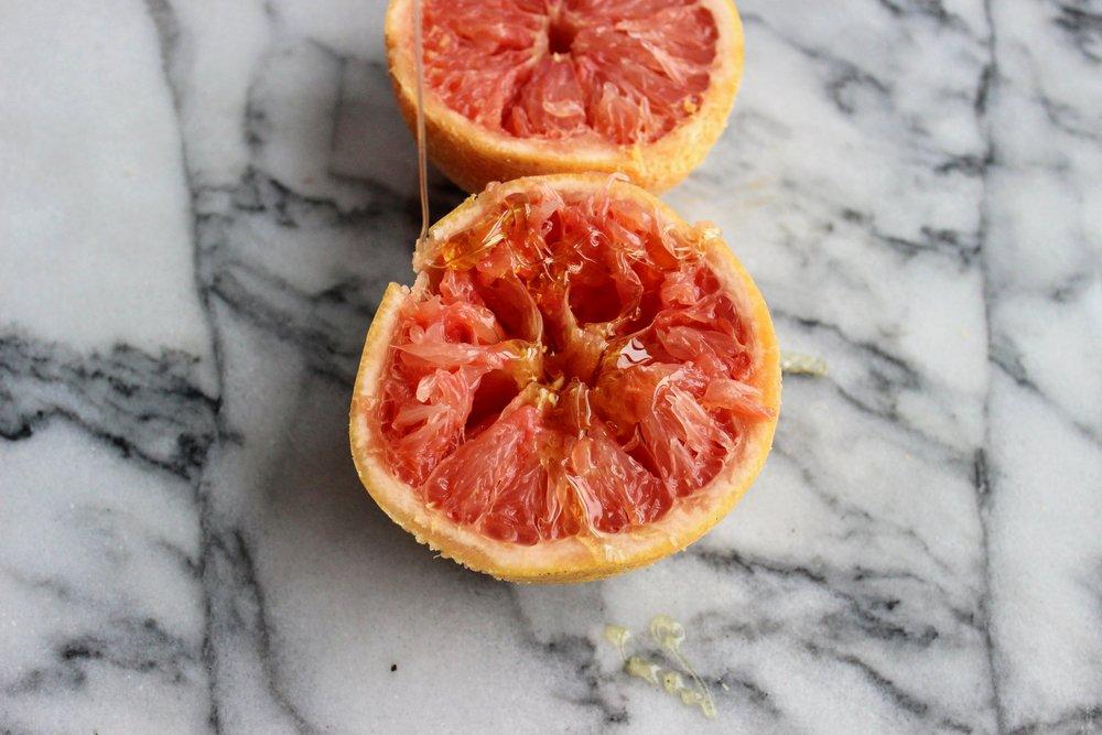 Grapefruit Coconut Sugar Scrub
