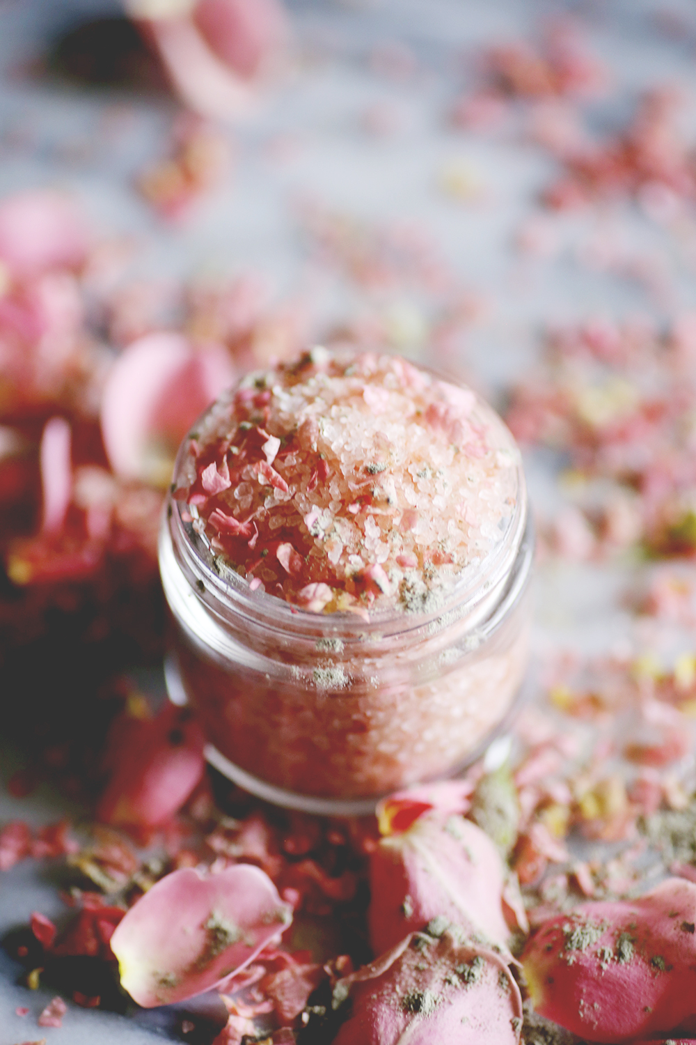 Salt and Ritual - Pretty in Pink Rose and Himalayan Salt Soak