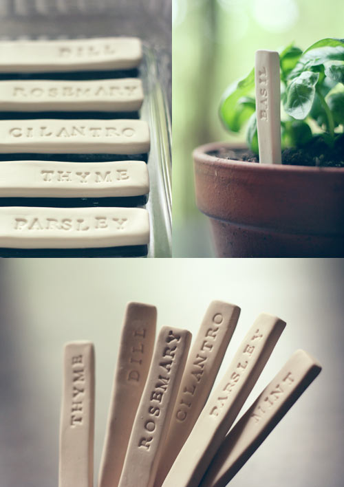 Wit and Whistle - DIY Garden Markers
