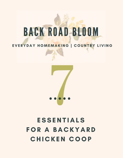 7 Essentials for a Backyard Chicken Coop Cover.jpg